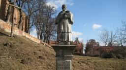 Figura Bł. Wincentego Kadłubka