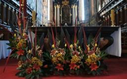 Bierzmowanie 2014. Ołtarz główny.