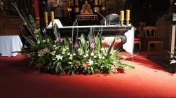 Ślub 24.05.2014. Ołtarz główny.