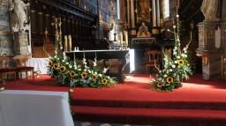 Ślub 23.08.2014. Ołtarz główny.