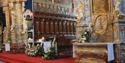 Śluby 06.09.2014. Ołtarz główny i boczne.