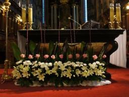 Ślub 22.10.2016. Ołtarz główny.