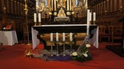 Adwent-2014. Ołtarz główny.