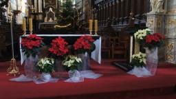 Boże Narodzenie 2014. Ołtarz główny.