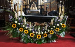 Śluby 15.08.2015 Ołtarz główny.