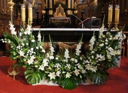 Śluby 22.08.2015 Ołtarz główny.