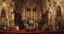 Odpust bł. Kadłubka 12.10.2015 Ołtarz główny.