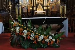 Ślub 24.10.2015 Ołtarz główny.