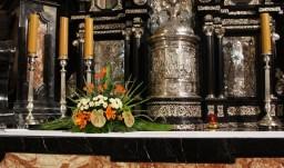 Wszystkich Świętych 01.11.2015 Kaplica Najświętszego Sakramentu.