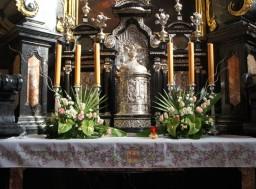 Wielkanoc 2016. Kaplica Najświętszego Sakramentu.