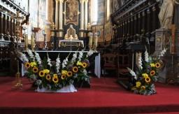 Niedziela 25.09.2016 Ołtarz główny.