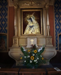 Odpust Bł. W. Kadłubka 09.10.2016. Kaplica Matki Bożej Ostrobramskiej.