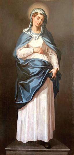Obraz Matki Boskiej Brzemiennej.