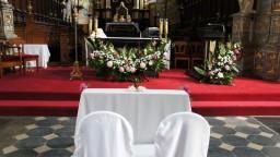 Ślub 09.06.2017. Ołtarz główny.