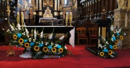 Ślub 12.08.2017. Ołtarz główny.
