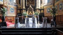 Ślub 10.08.2019 Prezbiterium.
