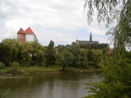 Widok na Katedrę i Zamek Królewski