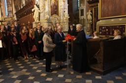 Życzenia dla Jubilata od Chóru Katedralnego.