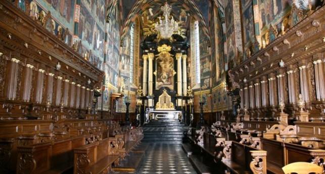 Wnętrze bazyliki katedralnej